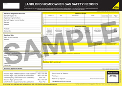 Example Landlord Gas Certificate